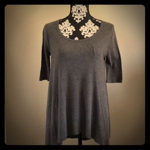 Grey swing top tunic